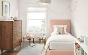 Light Colors To Paint Bedroom Room Pink White Trundle Decorative Design Ideas