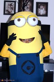 Despicable Minion Costume Despicable Minion Halloween Costume