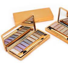 2015 new women 9 colors diamond bright colorful makeup eye shadow