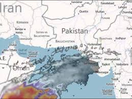 map of karachi heavy showers expected in coastal areas of sindh met office the