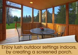 Decorating Screened Porch Learn How To Decorate A Screened Porch Innovatively