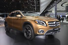 2018 mercedes benz gla redesigned myautoworld com
