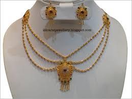light weight gold necklace designs 22 carat gold antique light weight necklace sets gold necklaces