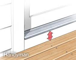 Patio Door Sill Tips For How To Build A Deck Decking Porch And Patios