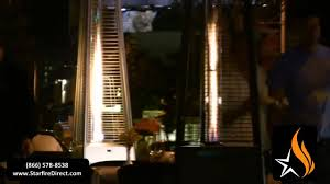 inferno patio heater lava heat patio heater youtube