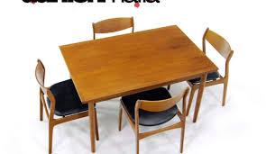 danish dining room table dining stunning danish mid century rosewood extending dining