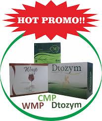 Obat Wmp promo produk harga wmp dtozym dan cmp obat pelangsing herbal
