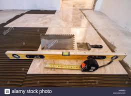 Installing Ceramic Tile Floor Ceramic Tiles And Tools For Tiler Floor Tiles Installation Home