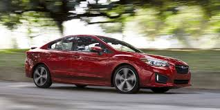 subaru impreza review 4 star 2018 subaru impreza is roomy a bargain