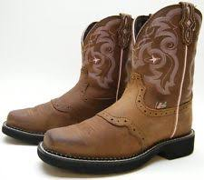 womens justin boots size 12 womens justin boots stede sorrel apache brown 6 c ebay