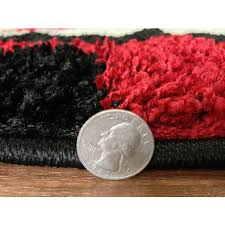 Black And Red Shaggy Rugs Discount U0026 Overstock Wholesale Area Rugs Discount Rug Depot