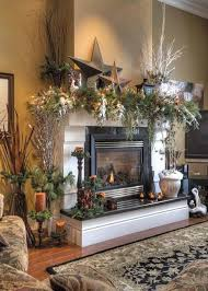 White Christmas Decorations For Mantel by 214 Best Christmas Mantel Decorating Ideas Images On Pinterest