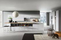 moderne kche mit kochinsel und theke nach hinten küchen mit kochinsel und theke kuche mit kochinsel und