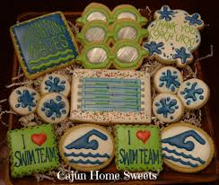 Swim Team Cookies Cookie Connection Cookies Pinterest