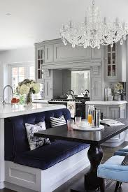 Kitchen Island With Table Seating Why You Should Put A Chandelier In Your Kitchen