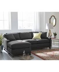 Sofa Bed Macys by Clarke Fabric 2 Piece Sectional Sofa With Chaise Custom Colors