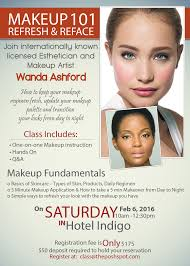 makeup application classes events classes