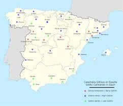 Tarragona Spain Map by Spanish Gothic Architecture Wikipedia