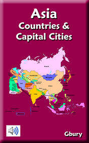 Asia Map With Capitals by Amazon Com Asia Countries And Capital Cities Appstore For Android
