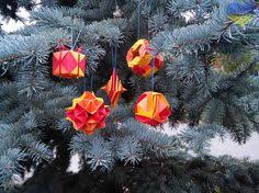 Waldorf Christmas Decorations Waldorf Rainbow Origami Christmas Decoration Origami Waldorf
