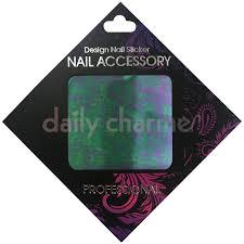 clou japanese nail art foil purple camo purple camo japanese