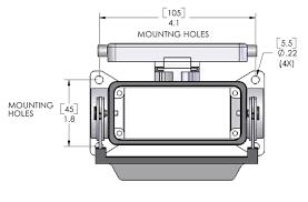 ilme chp 16ls c type surface mount housing