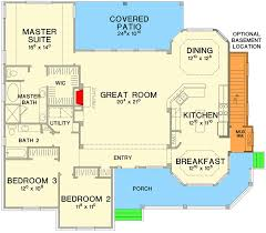 ranch floor plans with basement great ranch house plan 31093d architectural designs