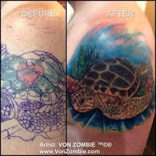 Arizona Flag Tattoo Vonzombie Studio Art U0026 Tattoo Arizona Cover Ups