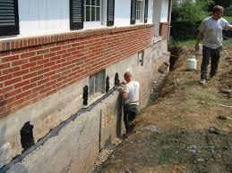 crazy basement leak floor wall repair basements ideas