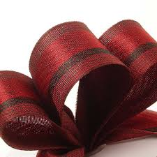 cloth ribbon madras striped cloth ribbon
