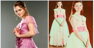 hermione yule ball hairstyle 3 scenes in which hermione granger and ginny weasley looked