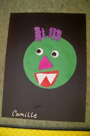 Construction Paper Halloween Crafts by 25 Best Go Away Big Green Monster Images On Pinterest Green