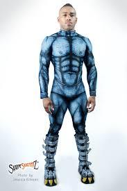 gargoyle costume men s shapeshifterz beast bodysuit sportswear costume blue bea