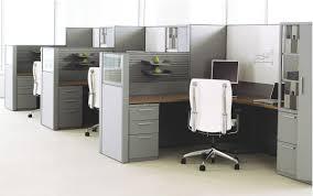 Teknion Reception Desk Workstation Desk Wooden Metal Contemporary Leverage Teknion