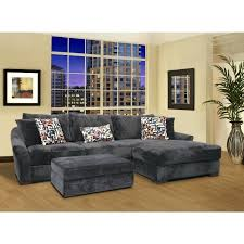 Charcoal Gray Sectional Sofa Chaise Lounge Living Room Stylish Alluring Leather Sectional Sofa With Chaise
