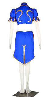 Chun Li Halloween Costume Amazon Dazcos Superior Street Fighter Chun Li Cosplay Costume