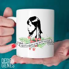 april ludgate is my spirit animal mug parks and rec quote mug