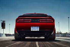Dodge Challenger Exhaust Systems - 2018 dodge challenger demon gets anti lag wizardry automobile