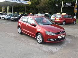 Used Volkswagen Polo Red For Sale Motors Co Uk