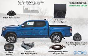Toyota Tacoma Double Cab Roof Rack by 2016 Present Double Cab Sound System U2013 Tacomabeast