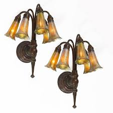 studios new york five light lily wall sconces