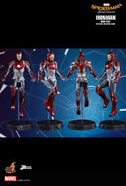 get a detailed look at iron man u0027s mark xlvii armor in spider man