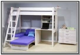 Loft Bed With Futon Bunk Bed With Desk And Futon Foter