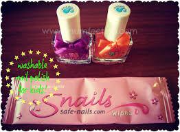 snails safe nails washable nail polish for kids mumfection