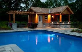 pool sheds and cabanas modern and clic pool cabana kits get yours