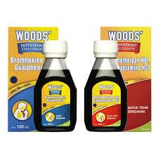 Obat Woods kalbe obat batuk woods peppermint syrup 100 ml apotek jabodetabek