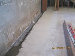 Interior Basement Drainage System Sst Basement Systems Basement Waterproofing Photo Album