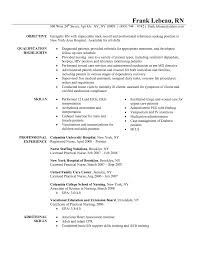 Resume Samples With References by Glamorous Registered Nurse Resume Examples And Free Sample Uk Form