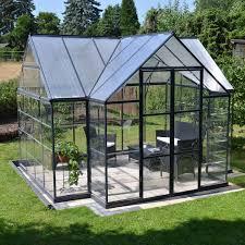 Greenhouse Palram Palram Canada 702422 Garden Chalet T Greenhouse Lowe U0027s Canada