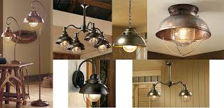 Fishermans Pendant Light Unique Ceiling Lodge Rustic Country Antique Bronze Brass Copper